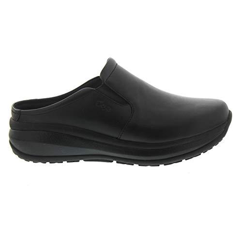 Joya Cabrio II W Black, Full-Grain Leather/Textile, Emotion-Sohle, Clog 752cas, Größe 38
