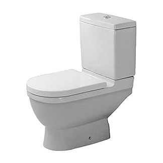 Duravit soporte WC Combi Starck 3 65,5 cm pared, sin cisterna, sin Dekel, blanco WonderGliss 1260100001, 1260100001