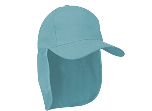 Junior-Legionär-Stil Jungen Mädchen Mütze Baseball Sonnenschutz Cap Hut Kinder Kappe MFAZ Morefaz Ltd (Light Blue) (Hüte Blau Für Kinder Dc)