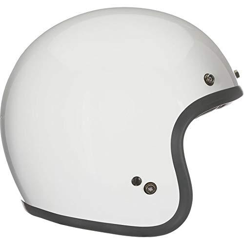 Bell Helmets Casco Moto Jet Custom 500 Vintage White (XXL)