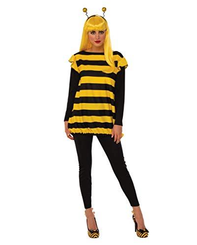 Kostüm Damen Für Biene Honig Erwachsene - Horror-Shop Honig Bienen Kostüm für Damen L