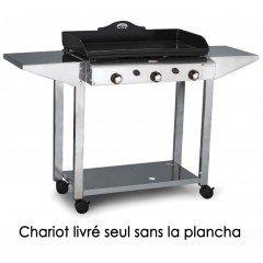 Forge adour 933.750 - Forge Adour 933.750 - chariot pour plancha 750 - tout inox