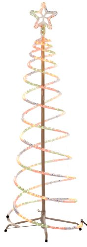 Brite Ideas Festive 1,5m/5ft LED-Ropelight Baum, mehrfarbig -