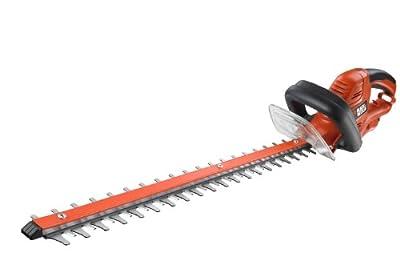 Black + Decker GT5560 Elektro-Heckenschere, 550 W, 60 cm Messerlänge von Black Decker