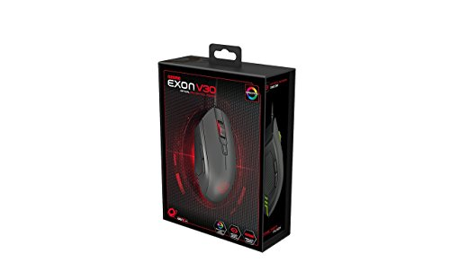 Ozone Gaming Gear Exon V30 - Gaming mouse, color negro