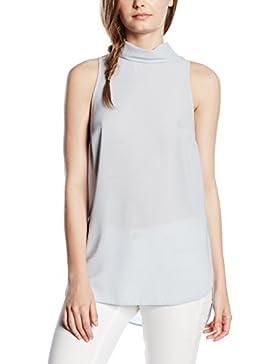 New Look Damen Hemd Roll Neck Tabard Sleeveless Tunic