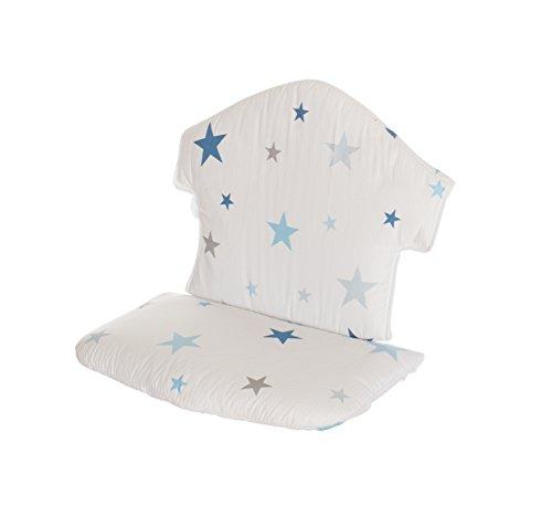Geuther - Sitzkissen für Hochstuhl Swing, sterne blau