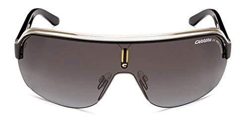 Carrera Unisex-Erwachsene TOPCAR 1 PT KBN Sonnenbrille, Schwarz (BLKCRYELLOW/GREY SF), 99