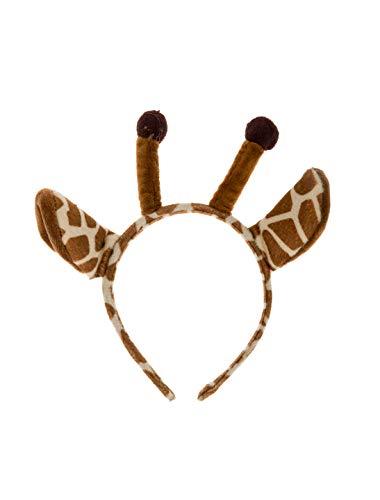 Haarreif Giraffe mit Hörnern Keine Größe