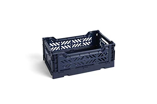HAY - Colour Crate S Korb - Navy -