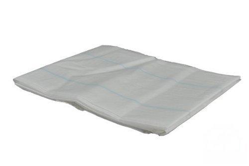 Trageschutzlaken Schutzlaken Einmallaken Krankenunterlagen Tragelaken Laken(75 x 210 cm 8 Fäden,Menge: 100 Stück)