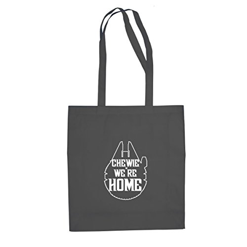 Chewie We're Home - Stofftasche / Beutel, Farbe: grau
