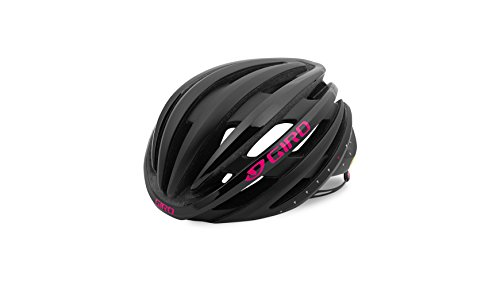Giro Damen Ember MIPS Fahrradhelm, Mat Black/Bright Pink, S