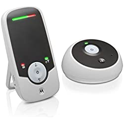 Motorola Scout 85 (MBP85 Connect, Schwarze Ausgabe) - Digitale fernsteuerbare Wi-Fi Babyphone und IP Überwachungskamera mit Infrarot-nachtsicht und Gegensprechfunktion, schwarz