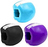 TOCYORIC 3 X Jawline Trainer, Jawline Shaper Face Slimmer, Double Chin Exerciser Ball, Jawline, Fitness Ball,