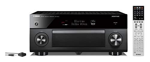 Yamaha RX-A3070 Schwarz - 9.2 AV-Receiver (230 Watt, Bluetooth, dtsX, DAB+, Zone 4, Dolby Atmos) (Aventage Yamaha)