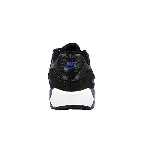 Nike Schuhe Air Max 90 Leather (TD) Unisex dark obsidian-court blue-black-white (833416-402)