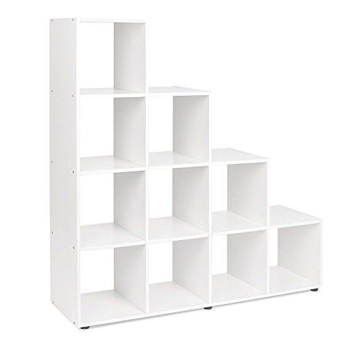 Scaffali in legno grezzo le migliori offerte web for Librerie mobili offerte
