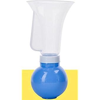 NWYJR Aspiration de pompe Comfort prolactine Grande poitrine Massage Résumé tire-lait manuel , blue