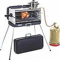 Bruciatore Bruciatore a gas–Valigetta barbecue–con 3piano stellen–50mbar Version–acciaio inox e
