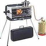 Holly ® Produkte - STABIELO - EDELSTAHL Gasbrenner - Seitenteile ALUMINIUM - 80 cm Gasschlauch - KOFFER GRILL - mit 3 KOCHSTELLEN - 30 mbar Version
