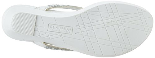 Kenneth Cole Reaction Great Time Synthétique Sandales Compensés white