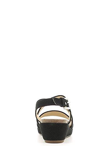 Sandali e infradito per le donne, colore Beige , marca GEOX, modello Sandali E Infradito Per Le Donne GEOX D ABBIE Beige Nero