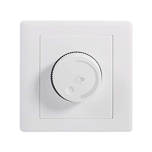 Wall Dimmer Switch Drehknopf Lampe Helligkeit Controller Panel Dimmer -