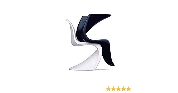 Sedia Panton Trasparente : Panton chair sedia panton chair inpilabile realizzata con un solo