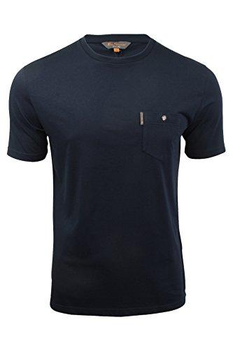 herren-t-shirt-von-ben-sherman-kurzarmlig-navy-blazer-l
