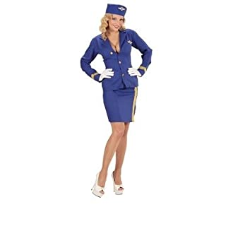Widmann wdm06774–Kostüm Stewardess, türkis, XL