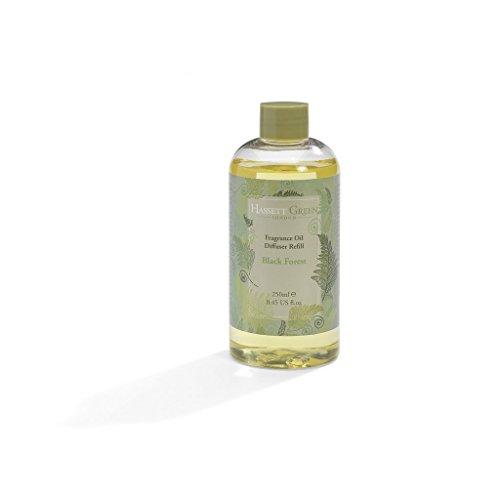 Hassett Green London Duftöl Nachfüllflasche 250 ml - Schwarzwaldduft von Citrus Eukalyptus und Minze Flasche mit 250 ml oz -