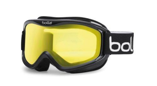 Bollé Skibrille Mojo, schwarz (Shiny Black/Lemon), 20573, Einheitsgröße