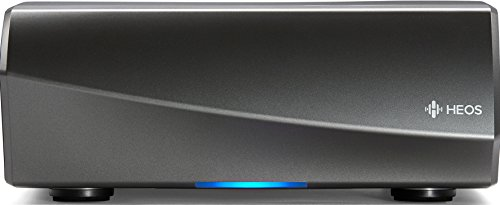 Denon HEOS Multiroom Audio-Streaming Vollverstärker (High-Res Audio, Amazon Music, Spotify Connect, NAS, WLAN, USB, Appsteuerung, Aux-in, Bluetooth, 2X 100 Watt) Schwarz