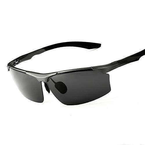 Preisvergleich Produktbild MMPY Herren Aluminium-Magnesium-Farbfilm reflektierende polarisierte Sonnenbrille,  Sonnenbrille polarisierte Brille,  Sportbrille Angeln Golfbrille