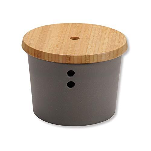 KESPER 41272 Vorratsdose/Zwiebeltopf Bamboo Fibre