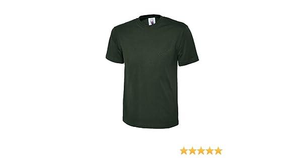 Uneek UC302 Premium Quality Work Wear T-Shirt 100/% Cotton 200gsm Tee Shirt