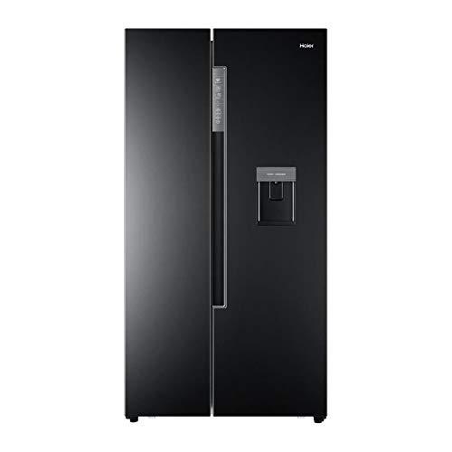Haier hrf-522ib6 - réfrigérateur américain - 500 l (331 l + 169 l) - Total no Frost - a+ - l 90,8 x h 179 cm - Noir