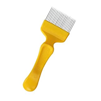 Bee Keeping Uncapping Fork Stainless Steel Beekeeping Tool---Red or Yellow Bee Keeping Uncapping Fork Stainless Steel Beekeeping Tool—Red or Yellow 31VdGY5FuIL