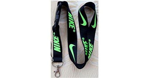 Preisvergleich Produktbild Nike schwarz Lanyard mit Neon Grün
