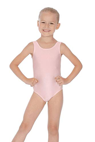 Roch Valley Joanne ärmelloses Ballett Trikot aus Lycra Blassrosa 11-13 Jahre 146-152cm (3A) -