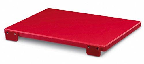 Ausonia - Tagliere polietilene da macellaio rosso 50x30x2