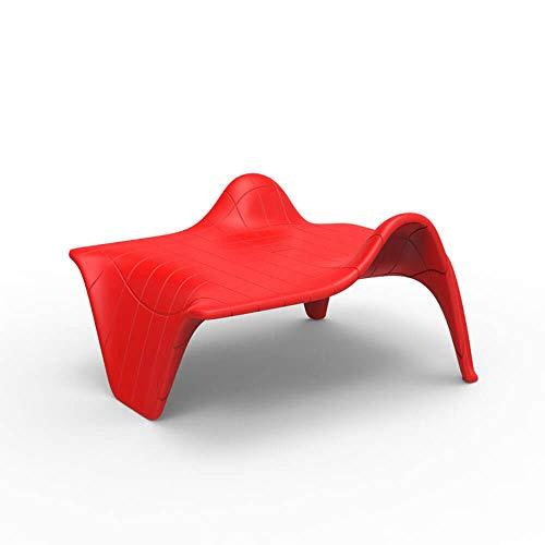 Vondom F3 Table Basse pour l'extérieur Rouge
