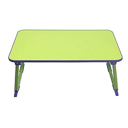 Klapptisch - Schlafzimmer Laptop Schreibtisch Bett mit Faltbarer Tablette Lazy College Dormitory Study Desk Tischchen - Größe: 60x38x27cm (Farbe: B) -