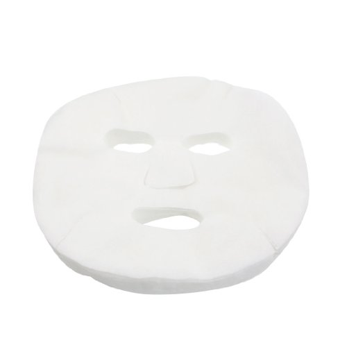 50 Pcs White Cosmetic Enlarged Cotton Facial Mask Sheet for Ladies