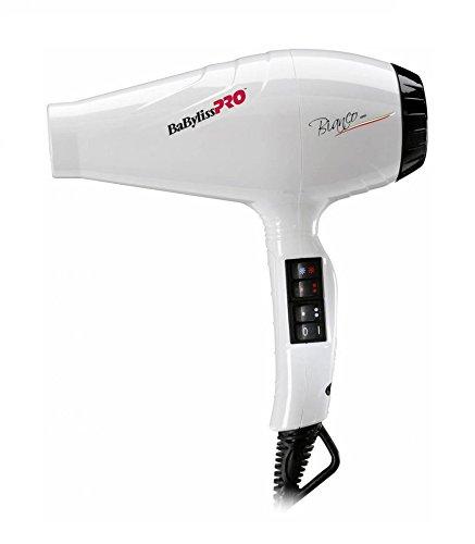 BaByliss PRO Bianco Haartrockner 2100 Watt weiß 490g