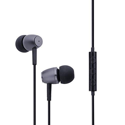 AURICOLARI UMIDIGI Cuffie intra-auricolari stereo con isolamento acustico e Bass-experience eccellente, microfono per iOS e tutti i dispositivi Android con Jack da 3.5mm