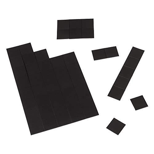 ECENCE 100x Mini láminas magnéticas extrafuertes