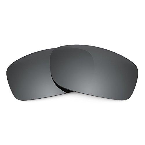 Revant Ersatzlinsen für Oakley Fives Squared Polarisierung Elite Schwarz Chrom MirrorShield®
