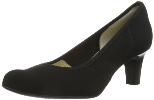 Peter Kaiser NANCY, Scarpe chiuse donna, Nero (Schwarz (SCHWARZ STRETCH CHEVRO 528 528)), 39